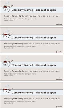 Business Coupons #2