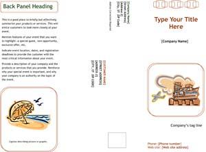 Marketing Brochure Sample #2