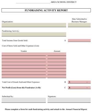 Academic Fundraising Report