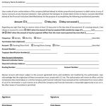 Direct Deposit Revocation Forms