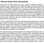 Customer Service Action Form