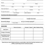 Sample Job Application #2