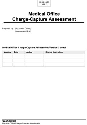 Medical Office Charge-Capture Assessment (Sample)