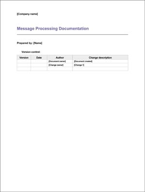 Medical Office Message Processing Documentation (Sample)