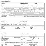 Medical Office Registration Form #2