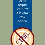 Don't Forget to Turn Off Cell Phone Sign