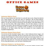 Halloween Games for Office