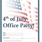 July 4th Office Party Flyer #2