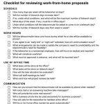 Managing TeleWorkers Checklist