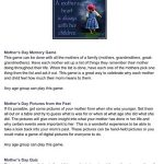 Mothers Day Activities & Games