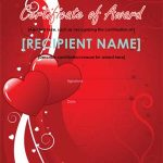 Printable Certificates for Valentines Day