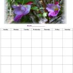 Free Printable Business Calendar #1