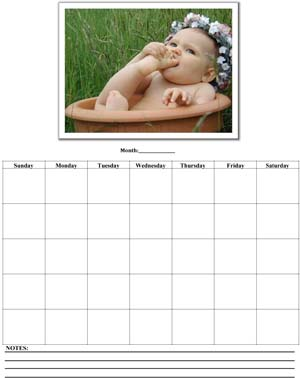 Free Printable Business Calendar #2