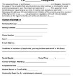 Campground Rental Agreement