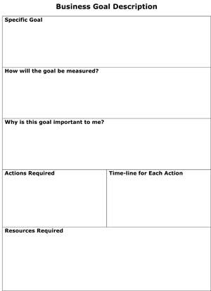 Business Goal Description