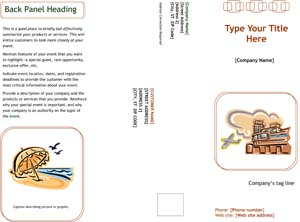Marketing Brochure Sample #2