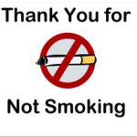 Business No Smoking Sign