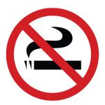 Business No Smoking Within 25 Feet Sign