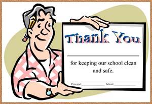 School Janitor Certificate