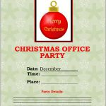 Christmas Office Party Flyer #1