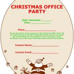 Christmas Office Party Flyer #2