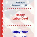 Labor Day Flyer – Office Closed