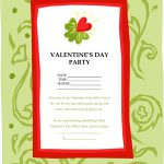 Valentines Day Flyer, Games & Cards