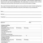 Direct Deposit Form | Free PDF | Word