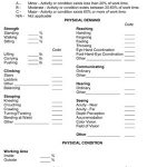 Human Resources Job Requirement Checklist