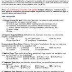 Sample Outpatient Satisfaction Survey Questions