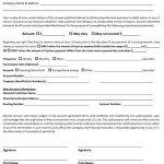 Direct Deposit Revocation Forms
