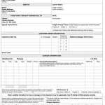 Sample Bill of Lading Form