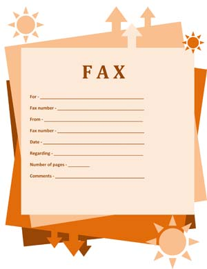 Fax Cover #1