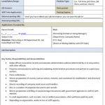Sample Administrative Secretary Job Description