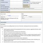 Sample Customer Service Representative Job Description