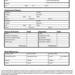 Sample Consumer Credit Application