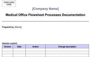 Medical Office Flow-Sheet Processes Documentation (Sample)