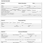 Medical Office Registration Form #2